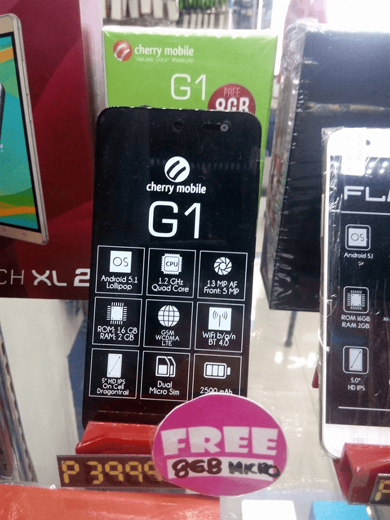 Cherry Mobile One G1 sale