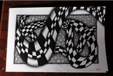 Knightsbridge Zentangle Racetrack