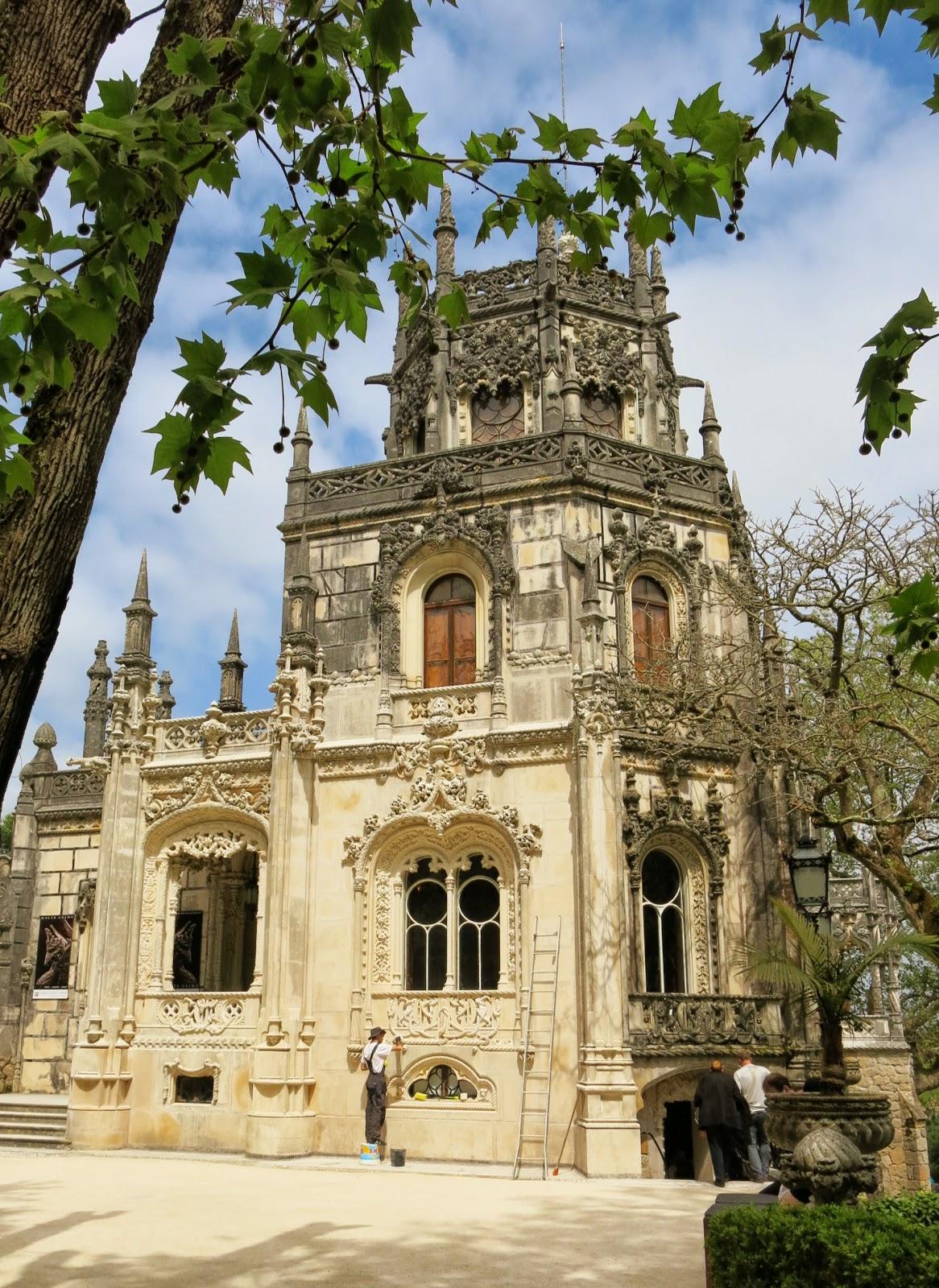 Regaleira-palatset i Sintra