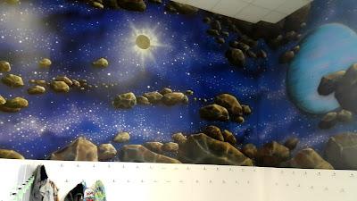 Artystyczne malowanie ścian, obrazy 3D na ścianę, malowanie murali 3D,