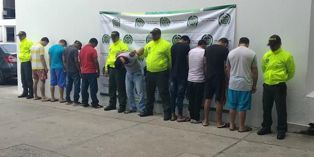 Desarticulado grupo de delincuencia común organizado en Maicao