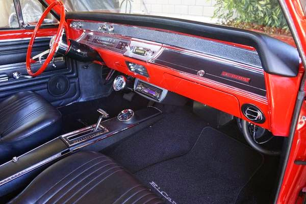 Chevrolet El Camino Interior Cabin on 1966 Ford Ranchero