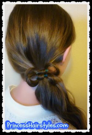 Phenomenal Hairstyles For Girls Princess Hairstyles Hair Bows Short Hairstyles Gunalazisus