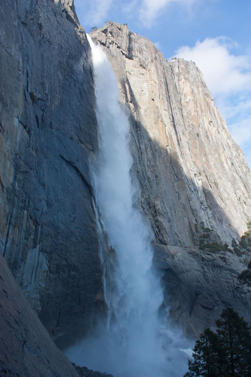 Hiking Shenandoah Upper Yosemite Falls