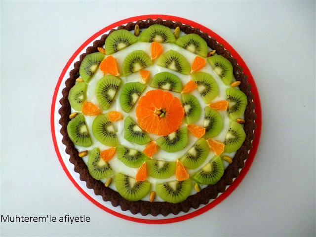 kiwi tart cake