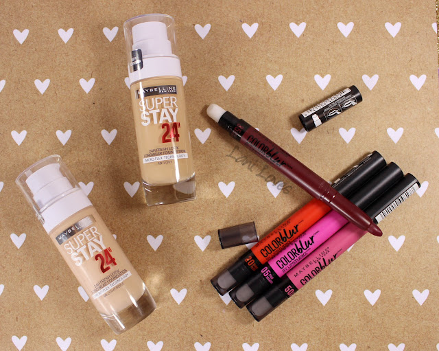 Maybelline 2016 New Releases Swatchfest!