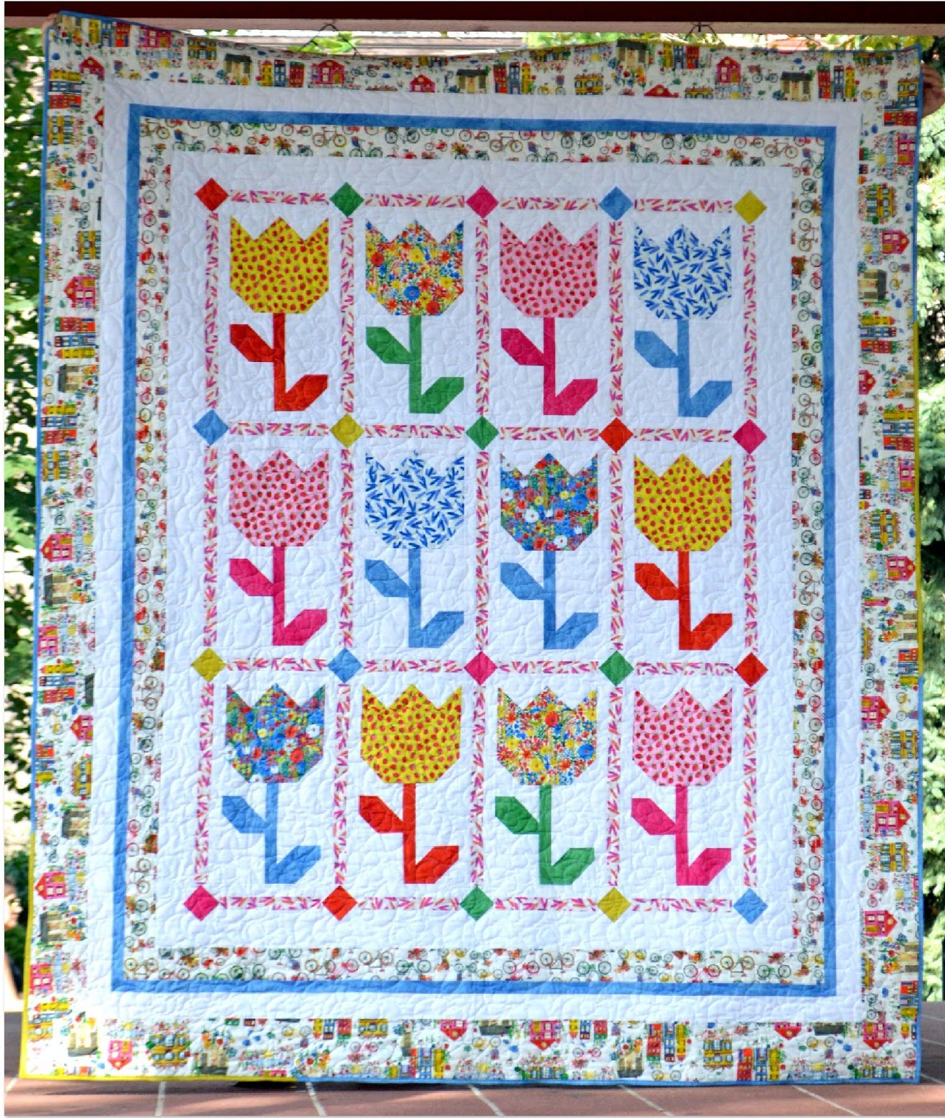Free Quilting Patterns For Spring : Michele Bilyeu Creates *With Heart and Hands*: Spring into Easter, Passover, and Other Special ...