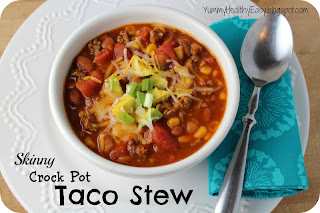 Skinny Crock Pot Taco Stew