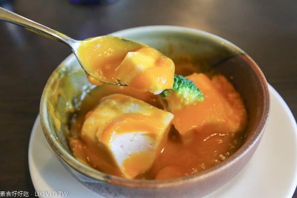 台中西屯禮來居手打烏龍麵|素食日式創意料理,美味的狐狸烏龍麵