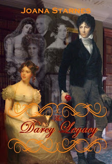 Book cover: The Darcy Legacy by Joana Starnes