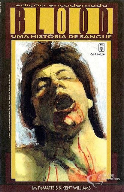 Review: Blood – Um História de Sangue (Editora Abril)