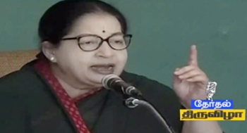 DMK is giving false promises in campaign: Jayalalithaa
