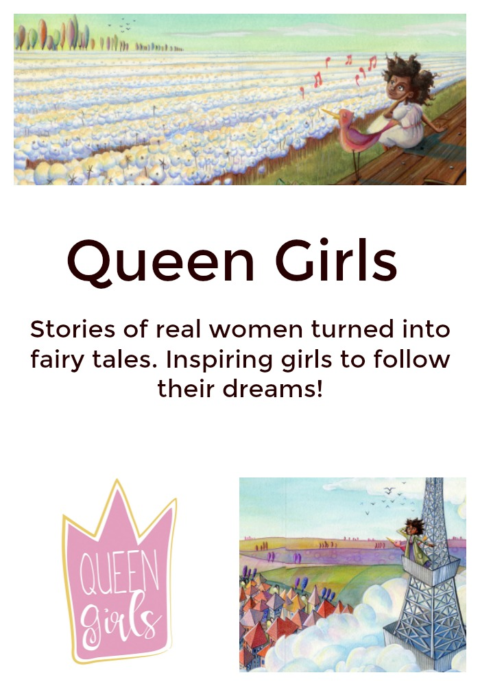 Queen Girls Collection Children's Book   Discovering the