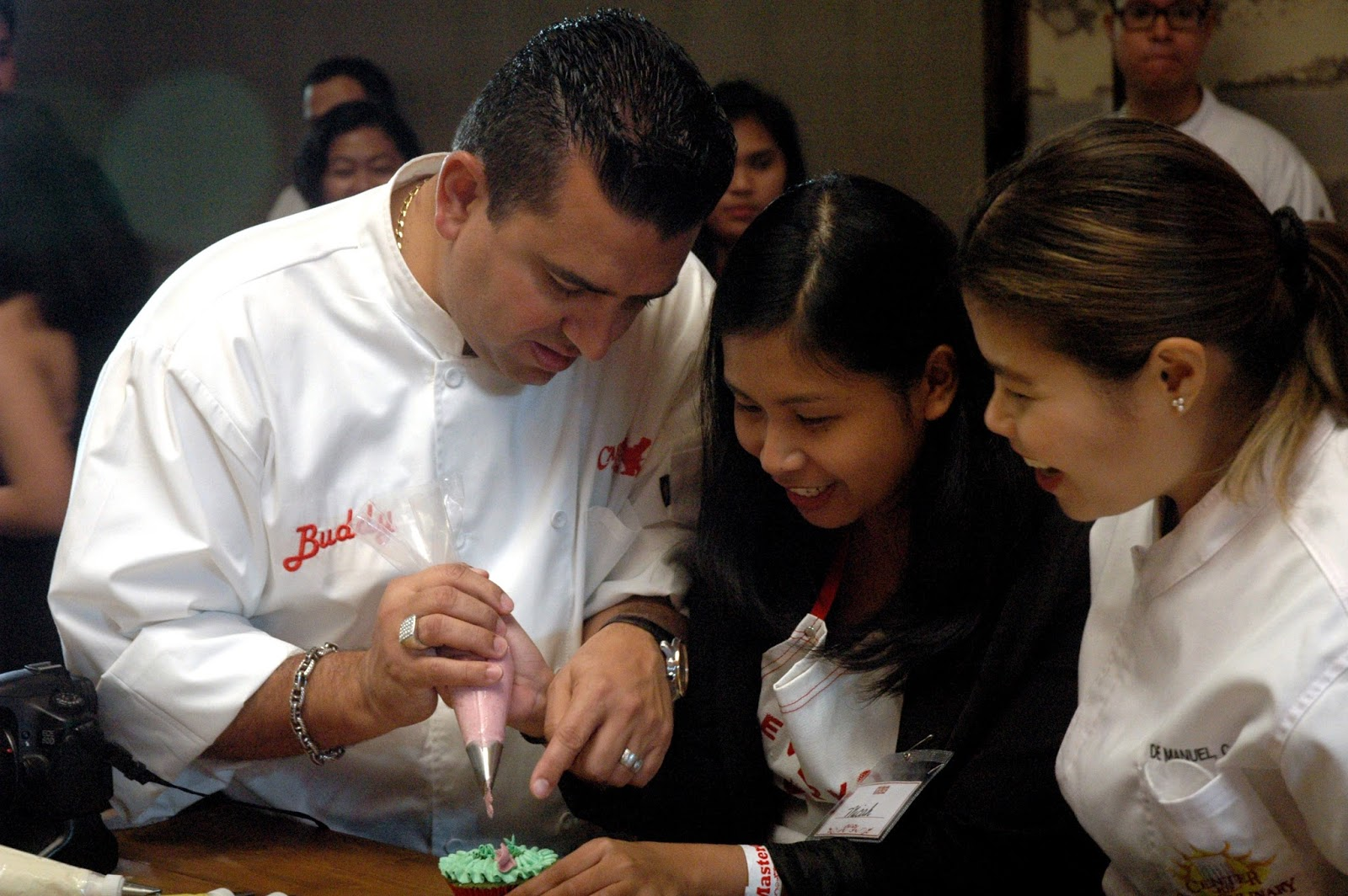 Cake Boss Piping Techniques