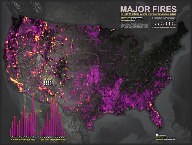 Major Fires Since 2001