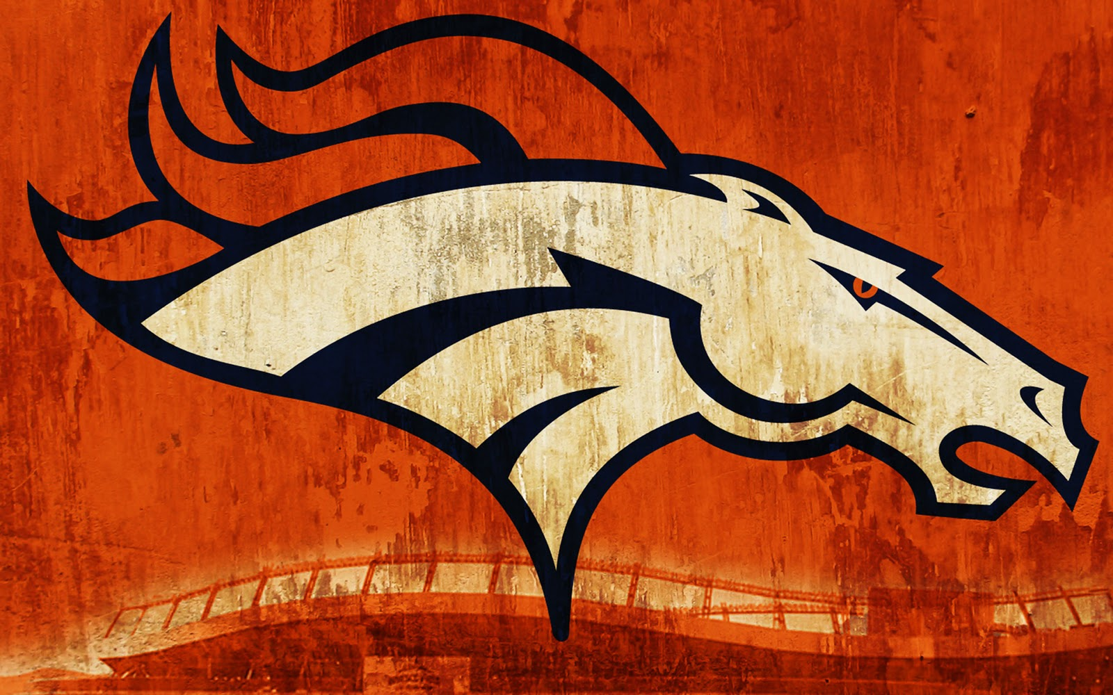 Central Wallpaper: Denver Broncos Logo HD Wallpapers