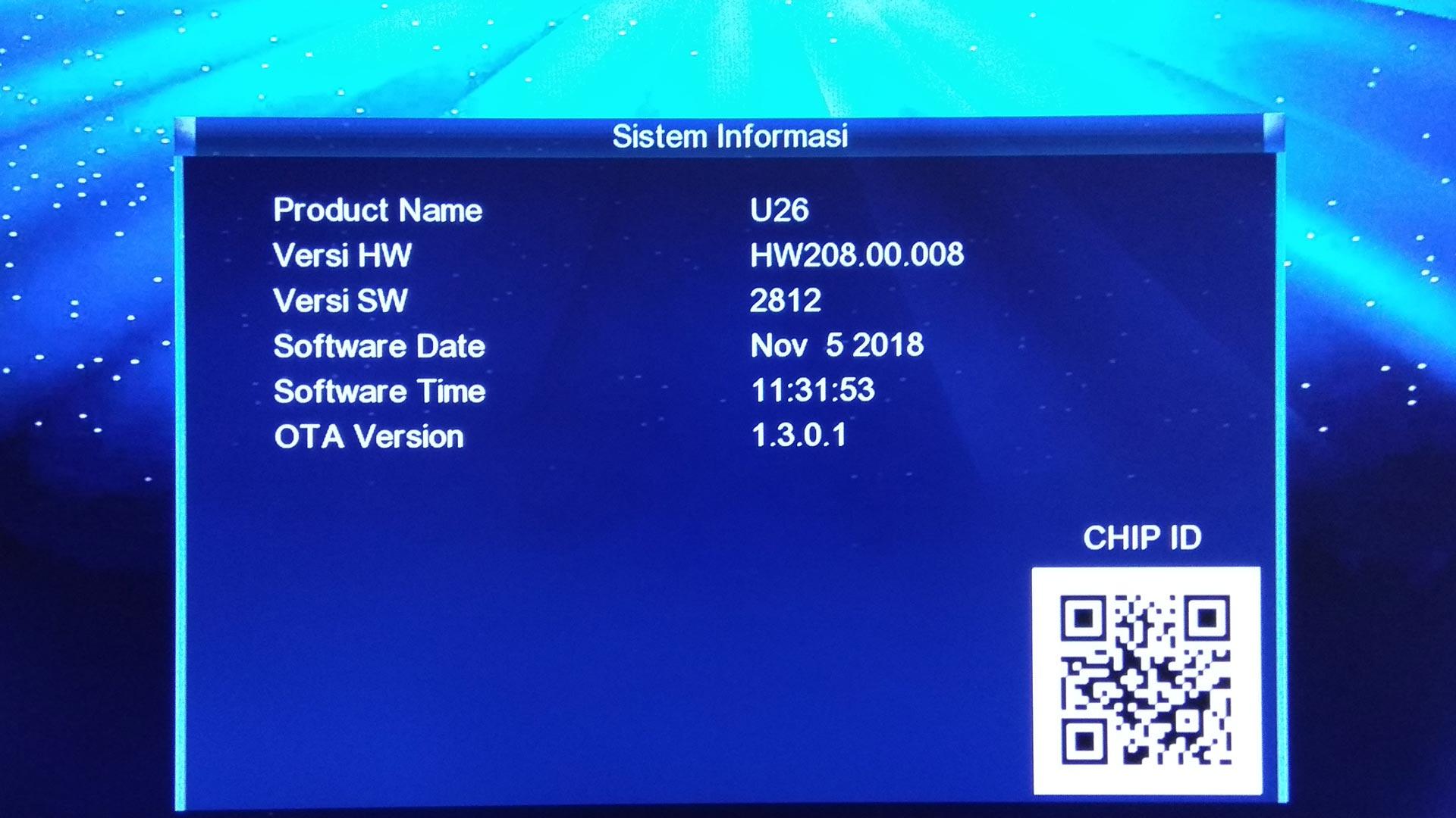 Firmware Matrix Garuda Hijau Ku Band SW Receiver Terbaru