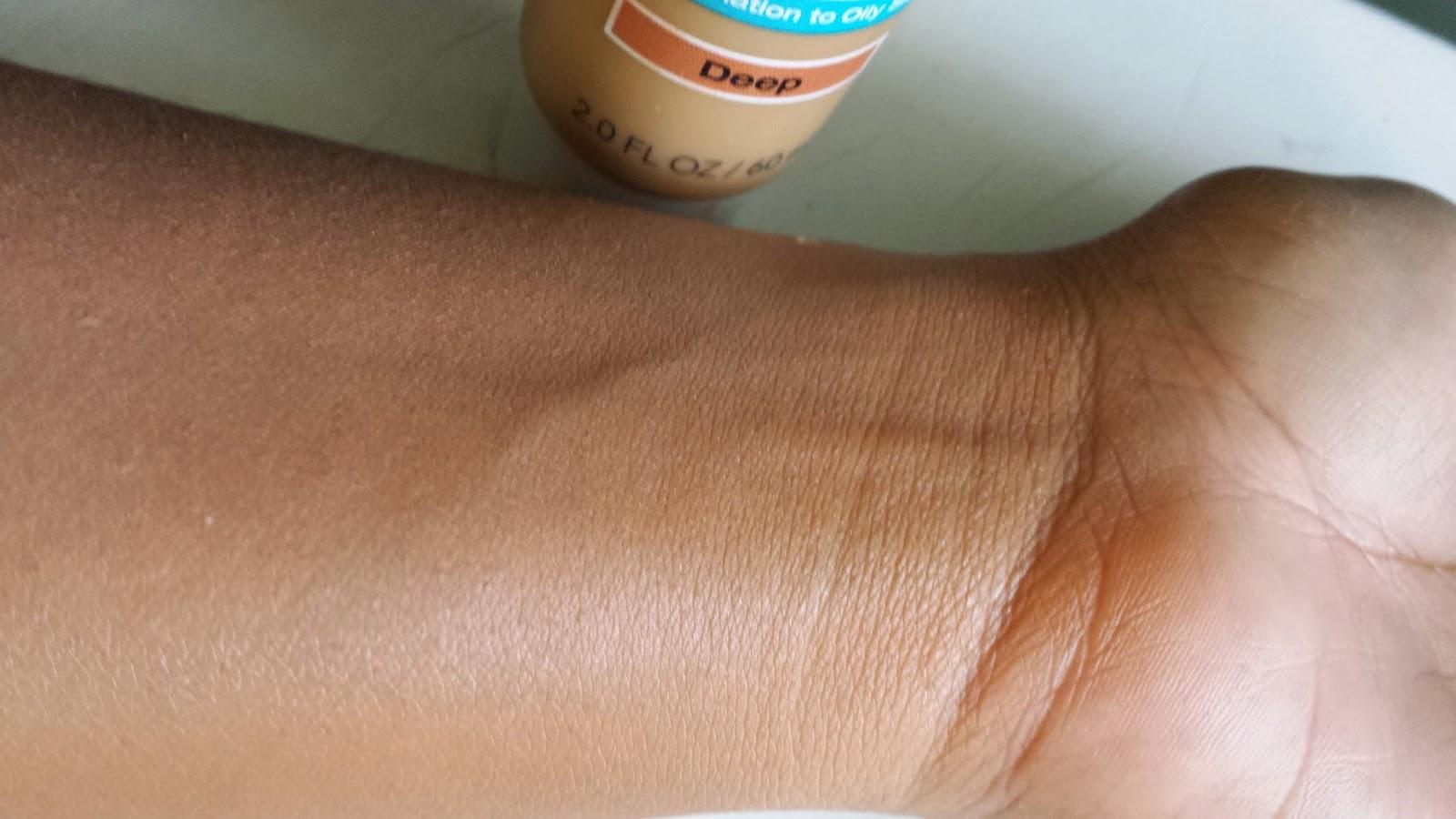 Garnier BB Cream swatch - www.modenmakeup.com