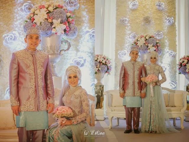 Gaun Pengantin Muslimah Kebaya Modern 2017