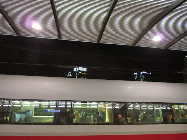 DB Bahn train in Speyer, Germany