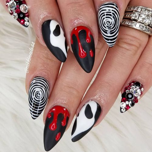 Best Halloween Nails That Are Too Legit