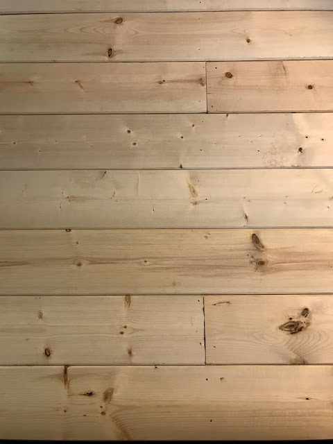 wood planks on wall