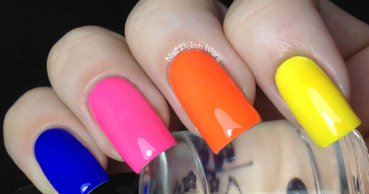 Nail Polish Wars Opi Neon Revolution Swatch Amp Review