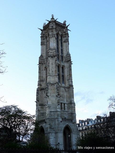 Torre Saint-Jacques, París