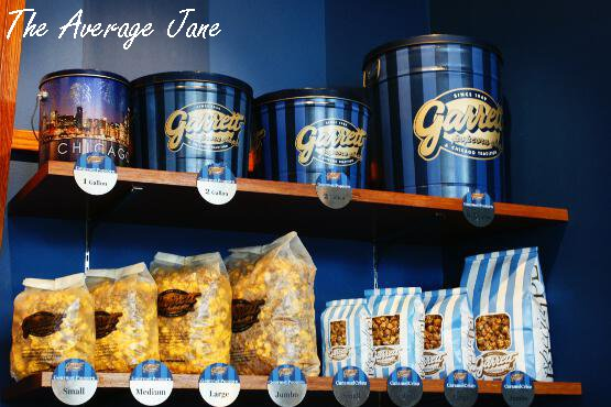 Garrett Popcorn In Diffe Sized Containers