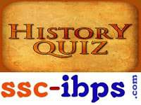 SSC CHSL Indian History Previous Year Asked Questions with Answers