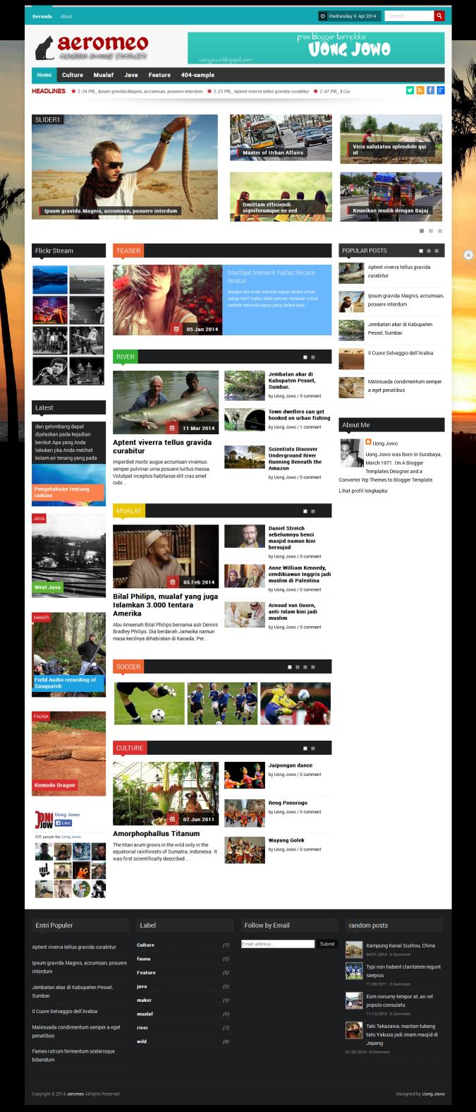Awesome Blogspot Magazine Template Embellishment - Example Resume ...
