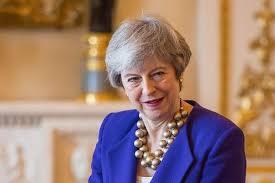UK PM Theresa May.