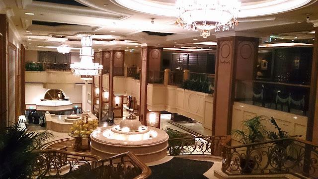 Melba, Langham Hotel, buffet