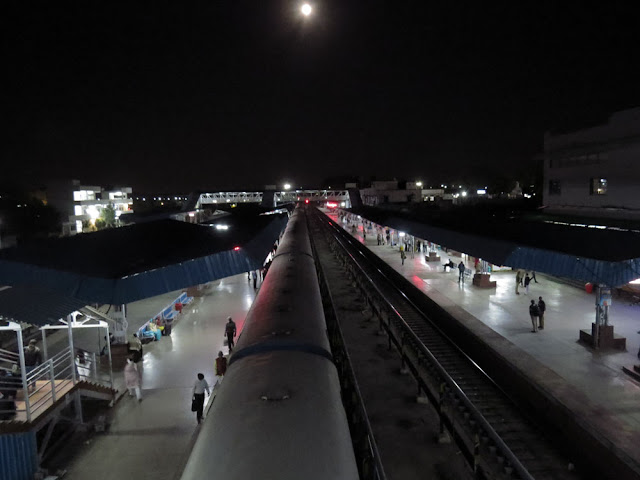 Aurangabad Station at 04:32 am