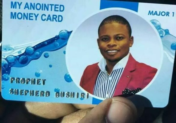 Popular Pastor Introduces Customized ATM Cards for Church Members to Use in Paying Tithe (Photos)