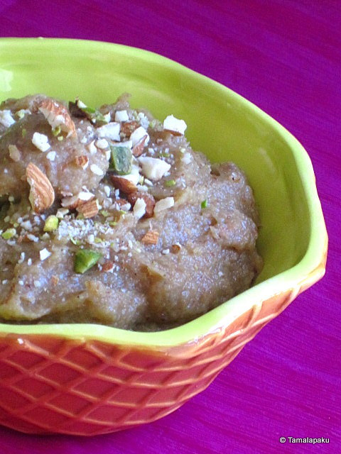 Mixed Fruit Halwa