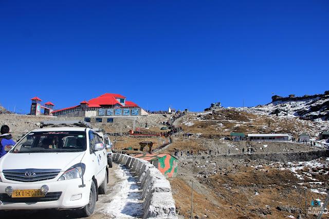 view of nathula pass sikkim