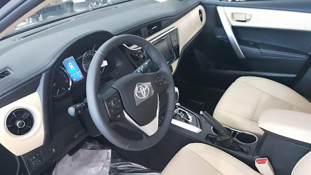 Novo Toyota Corolla Altis 2018 - interior