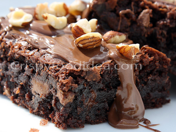 picture of nutella blondies