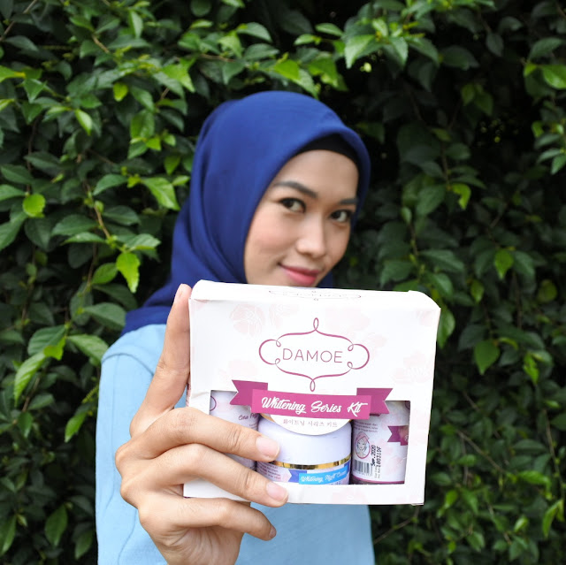 Harga Damoe Whitening Series Kit