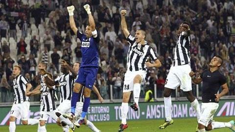 Bản lĩnh 'lão bà' giúp Juventus vô địch Serie A