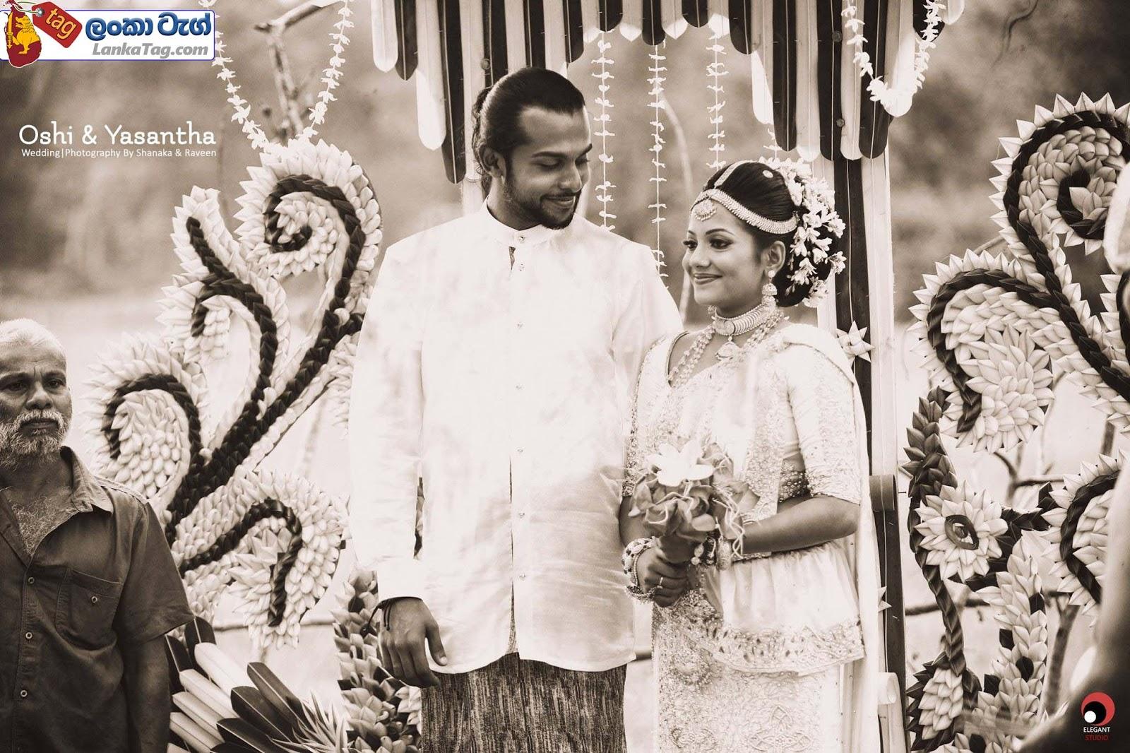 sri lankan wedding dress  9