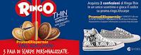 Logo Con Ringo Thin e Auchan vinci ogni giorno 3 paia di scarpe personalizzate