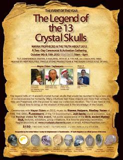 Evento Calaveras de Cristal 101010