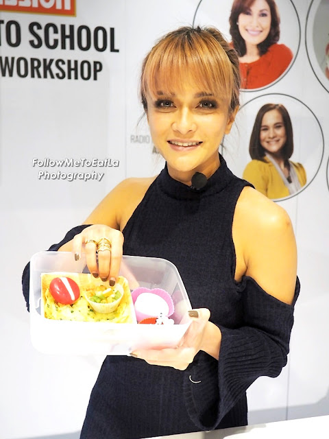 Sazzy Falak Actress, TV Host, Celebpreneur Recipe ~ Mission Tornado Chips Bento