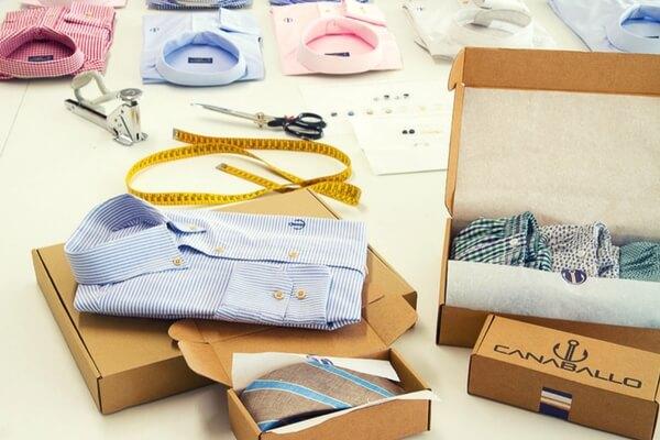cajas para camisas y complemetos
