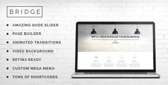 Bridge v3.8 Creative Multi-Purpose WordPress Theme