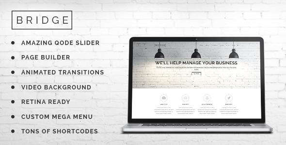 Bridge v3.8 Creative Multi-Purpose WordPress Theme