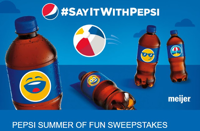 Pepsi-cola wants you to enter daily for the chance to win their instant win game where they'll be awarding $25 gift cards to Meijer and maybe a chance at a grand prize of $5000 for a vacation!