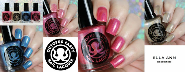 Octopus Party Nail Lacquer for Ella Ann: Spring 2016 Exclusives